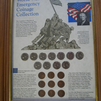 World War Two Emergency Coins - Military and Wartime