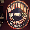 Curved Porcelain Ale Sign