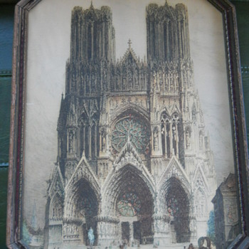 Reims Cathedral Print - Visual Art