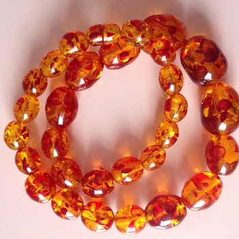Amber  necklace  - Fine Jewelry