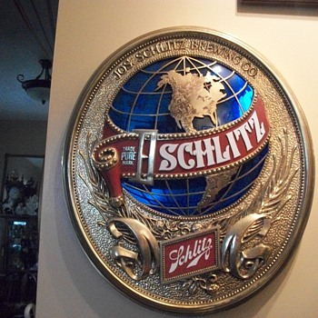 Beer signs - Schlitz - Breweriana