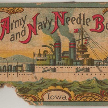 The Army and Navy Needle Book - Iowa - Sewing