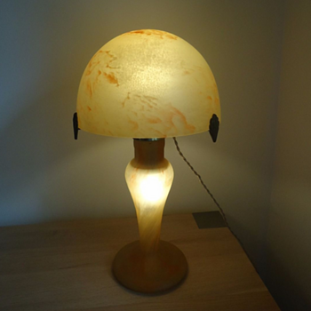 Daum Nancy Glass Lamp