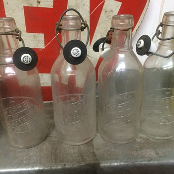 Nitrate of Magnesia bottles 1919-1929