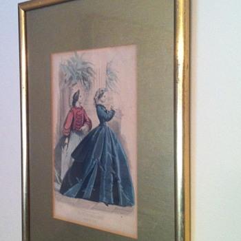 Les Modes Parisiennes print. - Visual Art