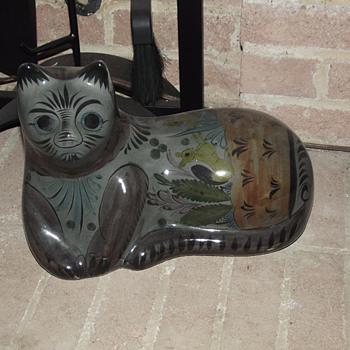 Tonala Mexican Cats  1974 and 1987 - Folk Art