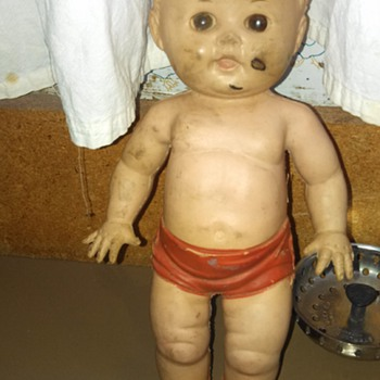 Tod-L-Tot creepy doll