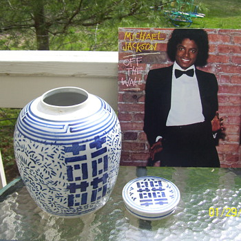 asian jar /michael jackson - Asian