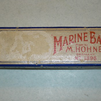 M. Hohner Marine Band Harmonica No. 1886 - Musical Instruments
