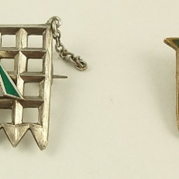 Women's Suffrage -- Hunger Strike medallions - Fine Jewelry