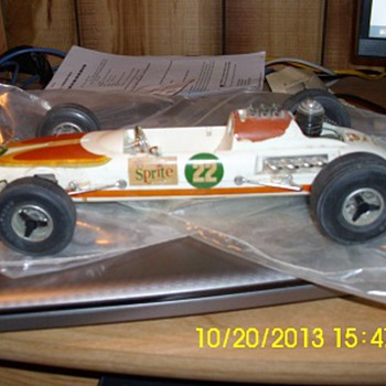 1970 Testers F1 Sprite racing car - Model Cars