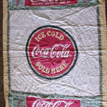 Vintage Coca Cola Quilt
