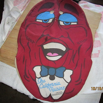 CHILDS ( POST)  CALIFORNIA RAISIN COSTUME - Advertising
