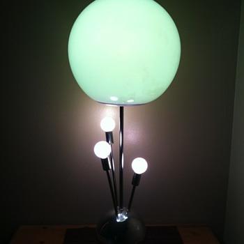 Vintage 60's Lamp Sputnik?  Atomic? Need help I.D'ing