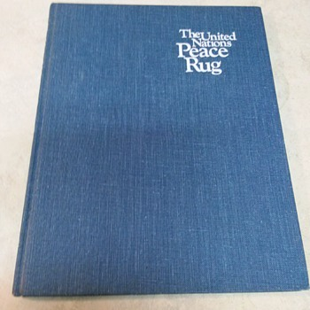 THE PEACE RUG BOOK FIRST EDITION