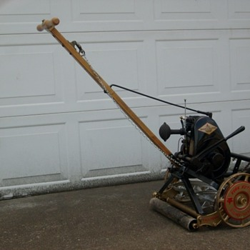 1934 Keen Kutter Reel/Rotary Powered Push Mower