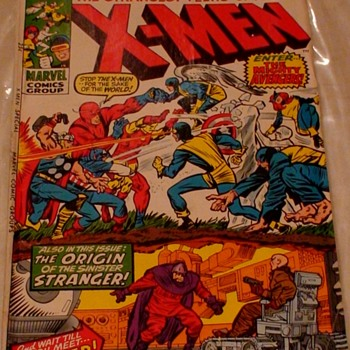 X-Men Enter The Avengers Issue 1 December 1970 Marvel Comics - Comic Books