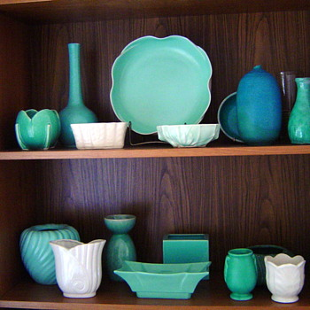 What I like - Pottery Turq/Aqua
