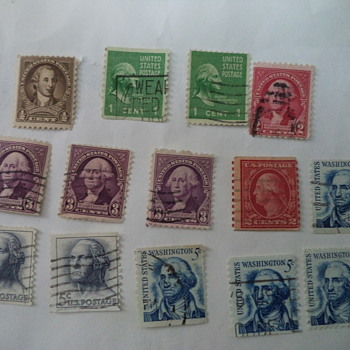 George Washington USA Stamps