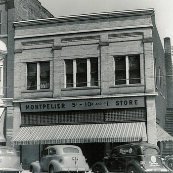 Dime Store in the '30s - Photographs