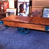 Restored HAMILTON factory cart / table