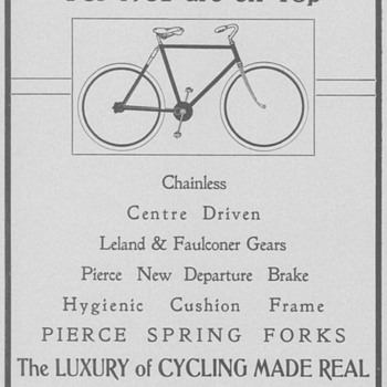 1902 Pierce Bicycles Advertisement