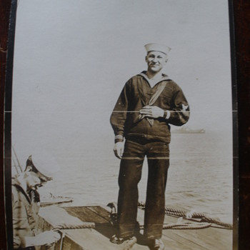 Great grandfather at sea during WWI.  - Postcards