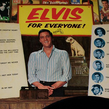 Elvis For Everyone Vinyl Album  - Music