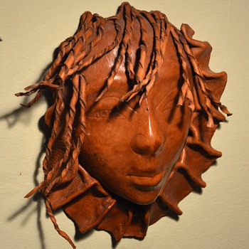 Leather Wall Mask