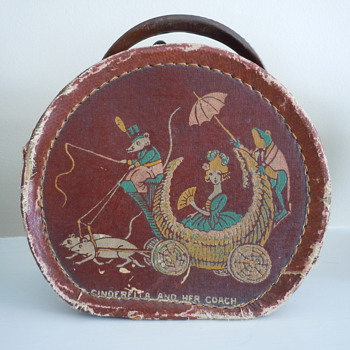 Vintage box/purse - &quot;Cinderella and her coach&quot; - Bags