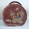 "Vintage box/purse - ""Cinderella and her coach"""