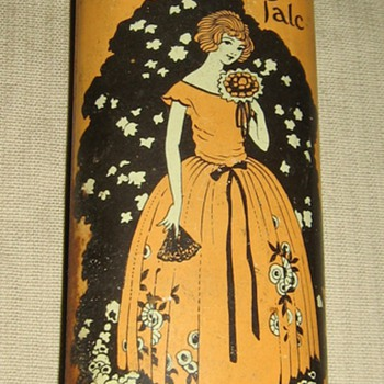 Old Sweetheart Talc by Mansco Perfumer, New York - Art Deco