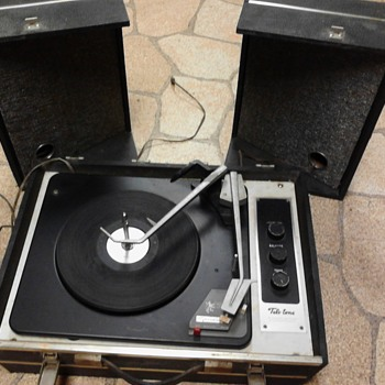 1 of a kind garrard suitcase record player - Electronics