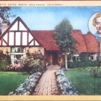 1949 Bette Davis Postcard - Postcards