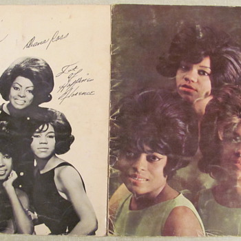 MOTOWN'S FEMALE ROYALTY - Music Memorabilia