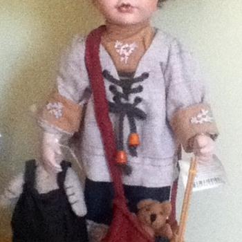 Joanie Porcelain Doll - Dolls