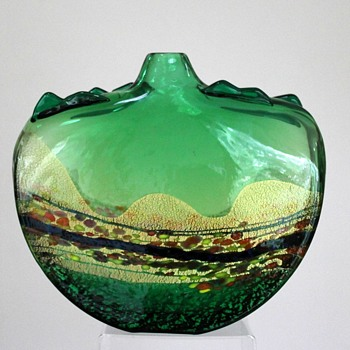 Shinichi Muro vase - Art Glass