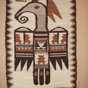 Wool Wall Hanging - Native American