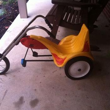 70's era Hot Seat Trike - Toys