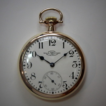 1903 Ball Watham Railroad Pocket Watch - Pocket Watches
