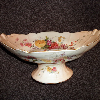 My Royal Worcester blush ivory bowl.