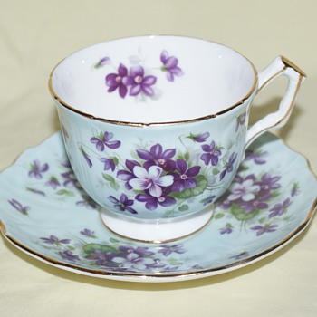Ansley Cup and Saucer