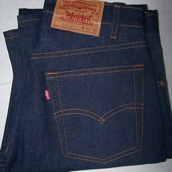 Levi's Jeans 505-0217 ...dont know if there from the 80's ois that vintage