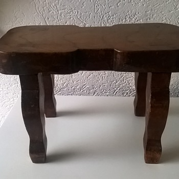 Little Wooden Stool Thrift Shop Find 1 Euro ($1.06)