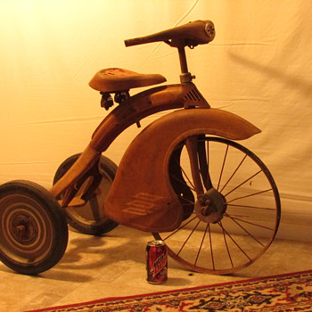 Early Tricycle Looking for maker , name , year please  - Sporting Goods