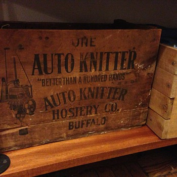Auto Knitter crate - Sewing