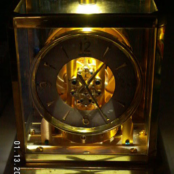 1950's Jaeger-LeCoultre ATMOS Perpetual Motion Clock -Serial #45*** from Geneva, Switzerland  - Clocks
