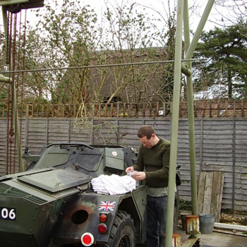 Daimler Ferret Restoration No.6 - Military and Wartime