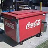 Wooden Coca Cola Cooler