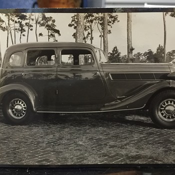 Original Antique Automobile Photography